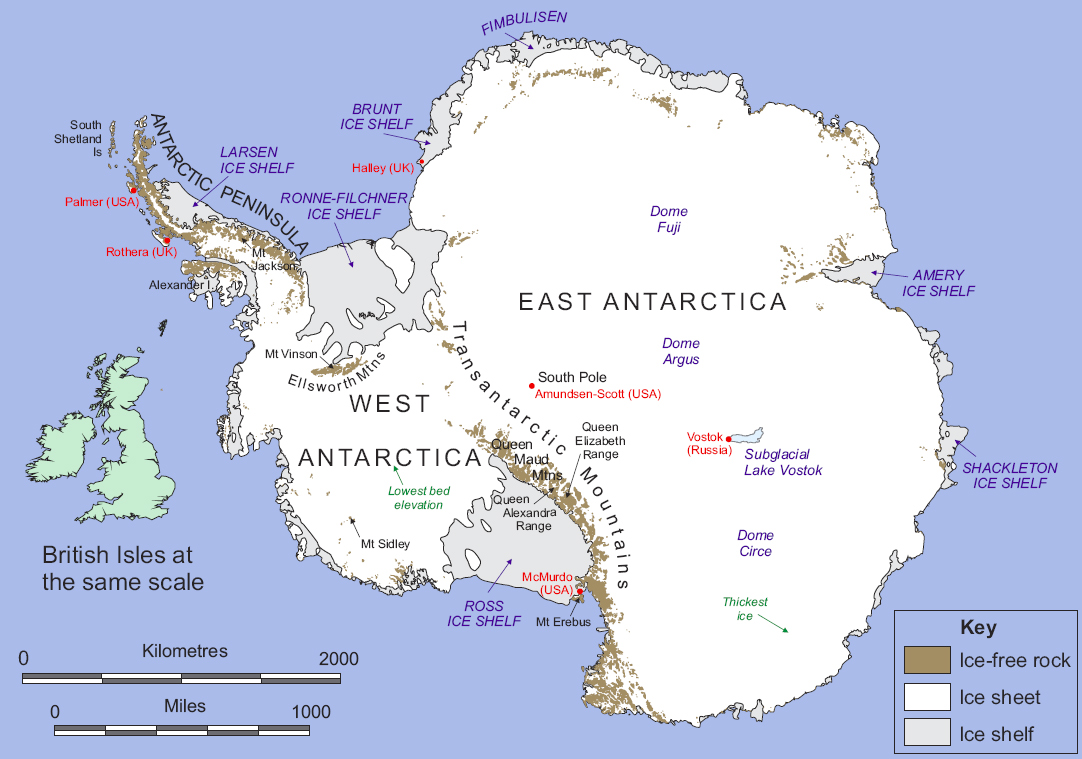 Antartica* Antarctica - Adrift (Cast Your Mind)