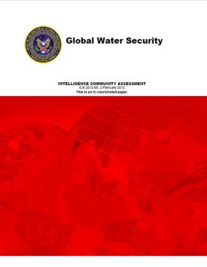 U.S. Intelligence Community Assessment - Global Water Security