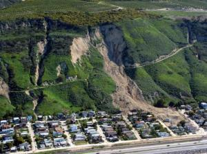Landslide - La Conchita, California