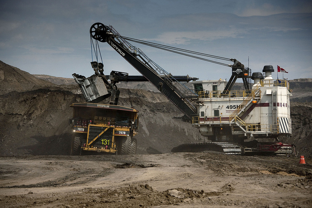 Athabasca Oil Sands, Alberta, Canada
