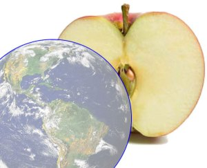 Earth's Atmosphere - Thin as an Apple Skin