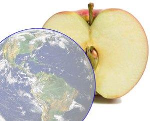 Earth's Atmosphere - Thin as an Apple Skin