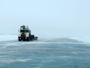 Ice Highway, Northwest Territories, Canada