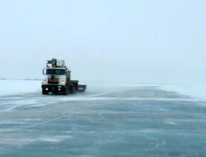 Ice Highway, Northwest Territories, Canada