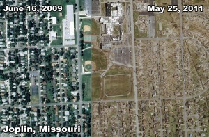 Joplin, Missouri - Before and After